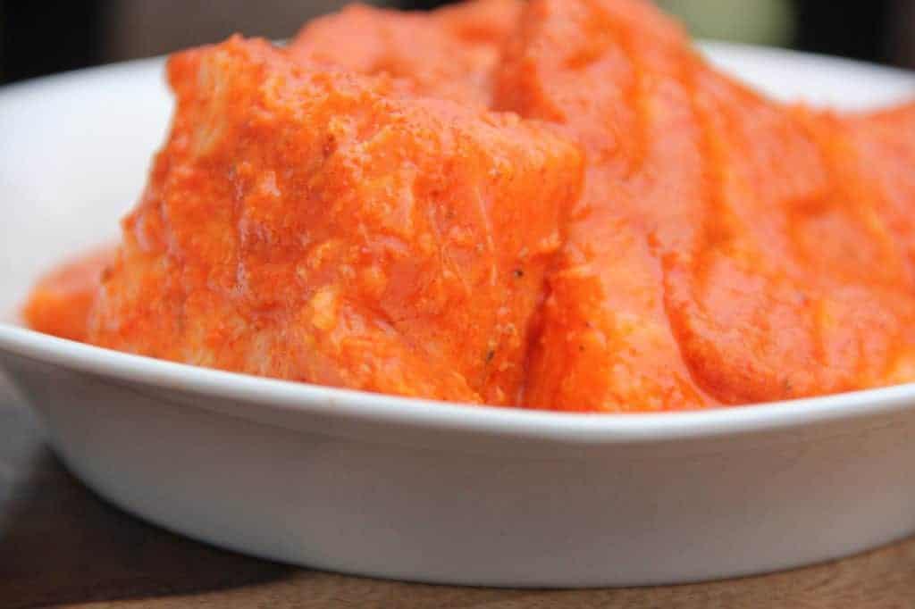 Tandoori Salmon - Marinade