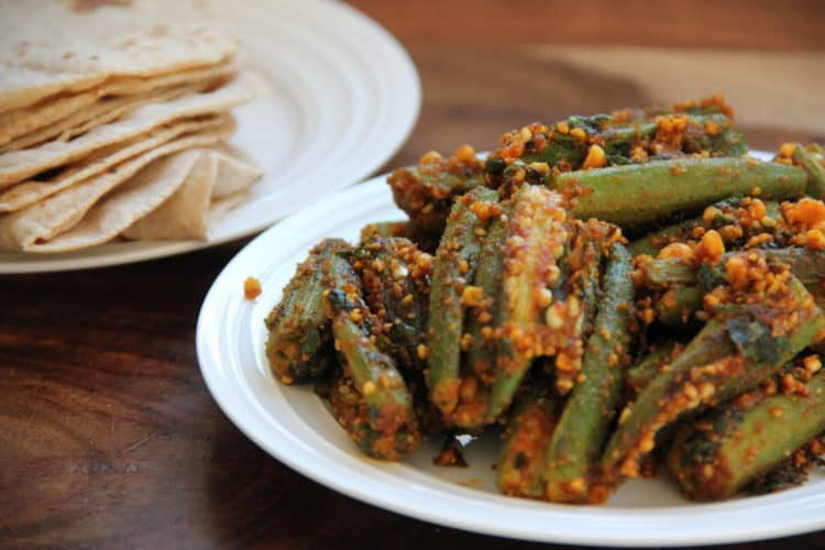 Stuffed okra