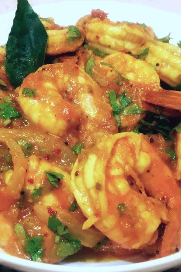 Spicy Malabar Shrimp Curry