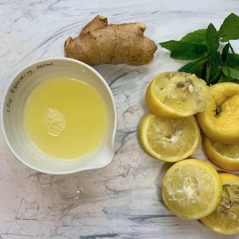Fresh Ginger Lemonade - Ministry of Curry