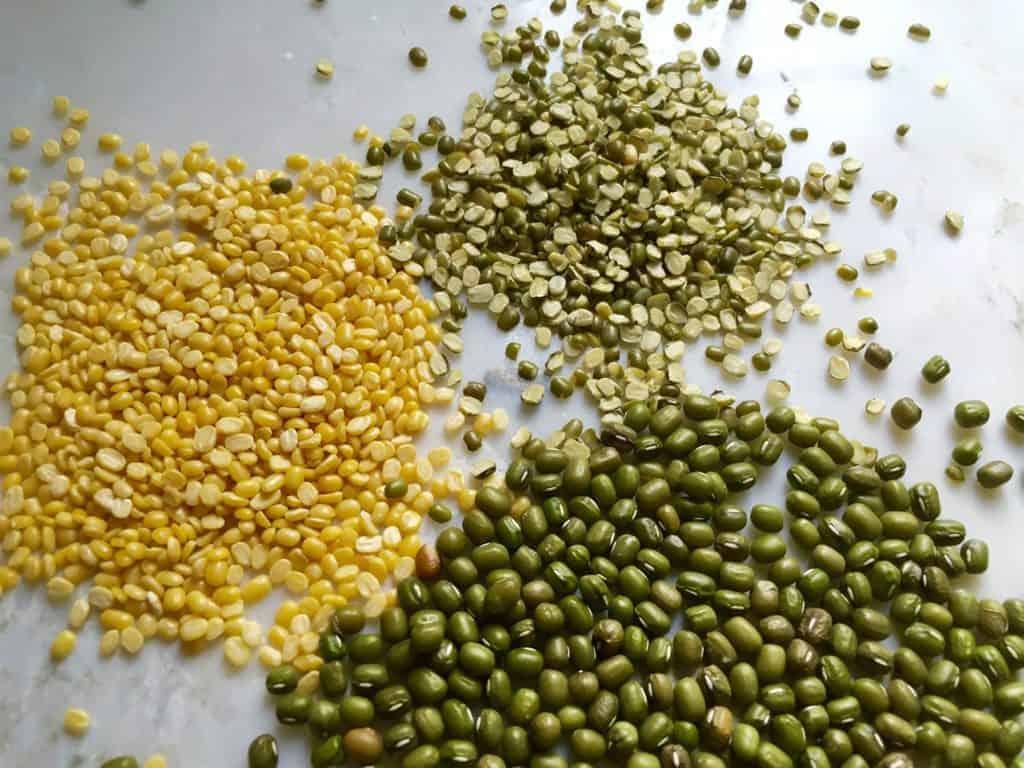 pulses - mung beans