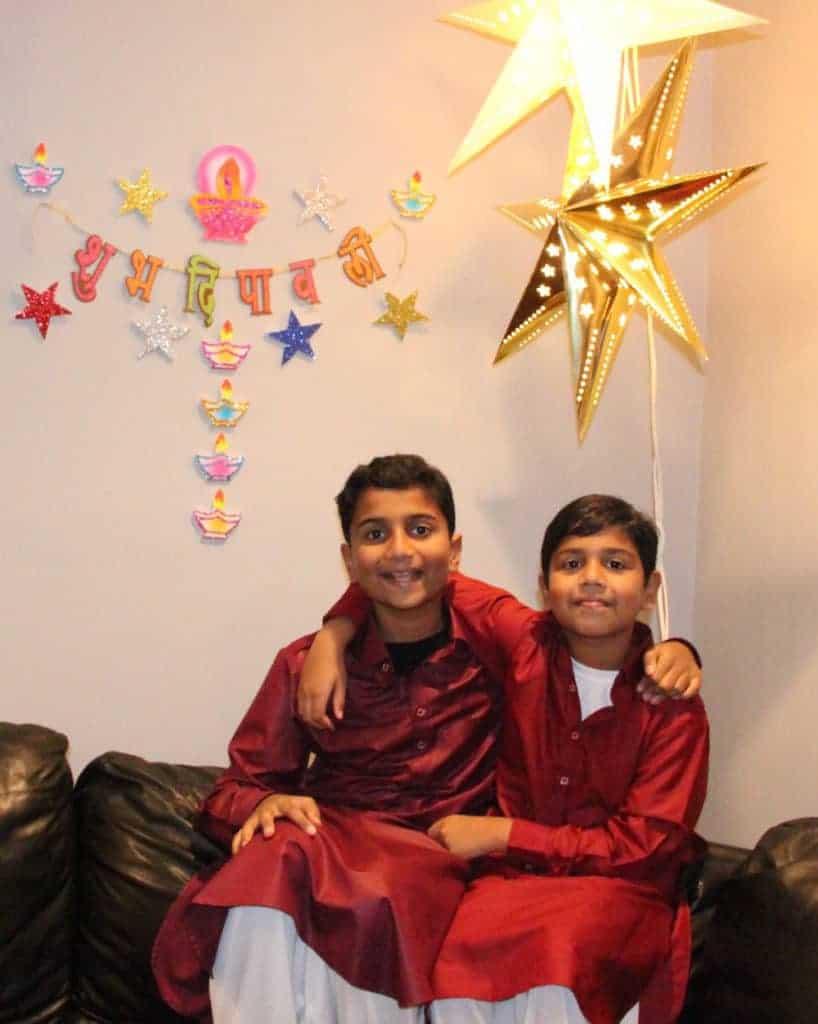 Diwali celebrations - decor