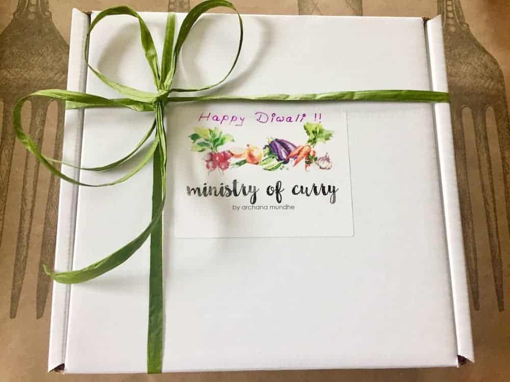Diwali celebrations gift box