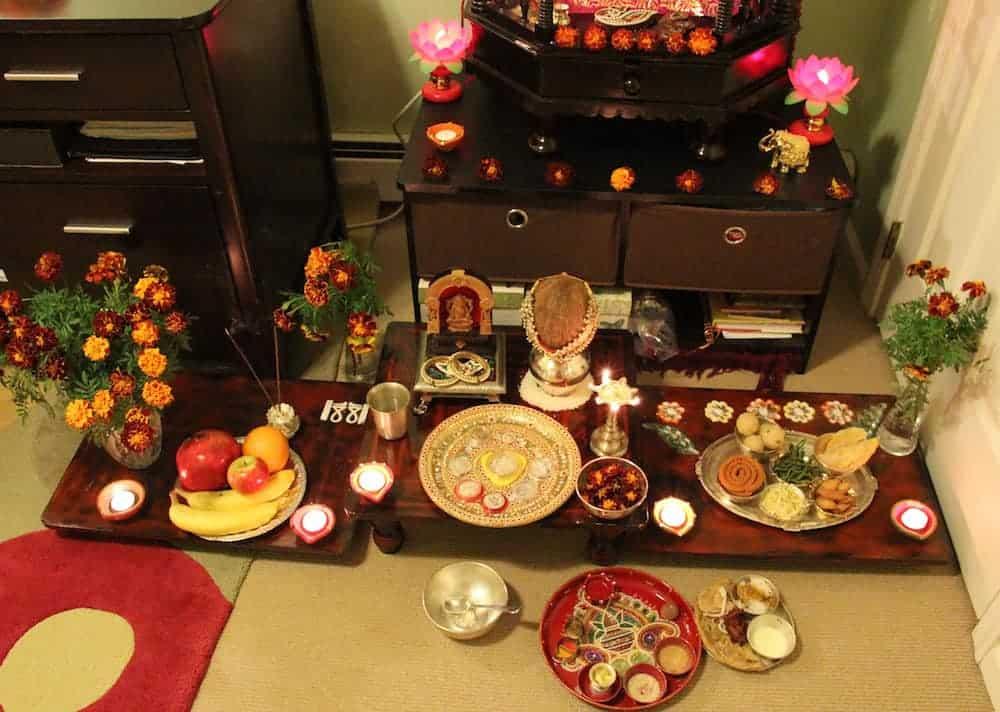 Diwali celebrations - lakshmi-puja