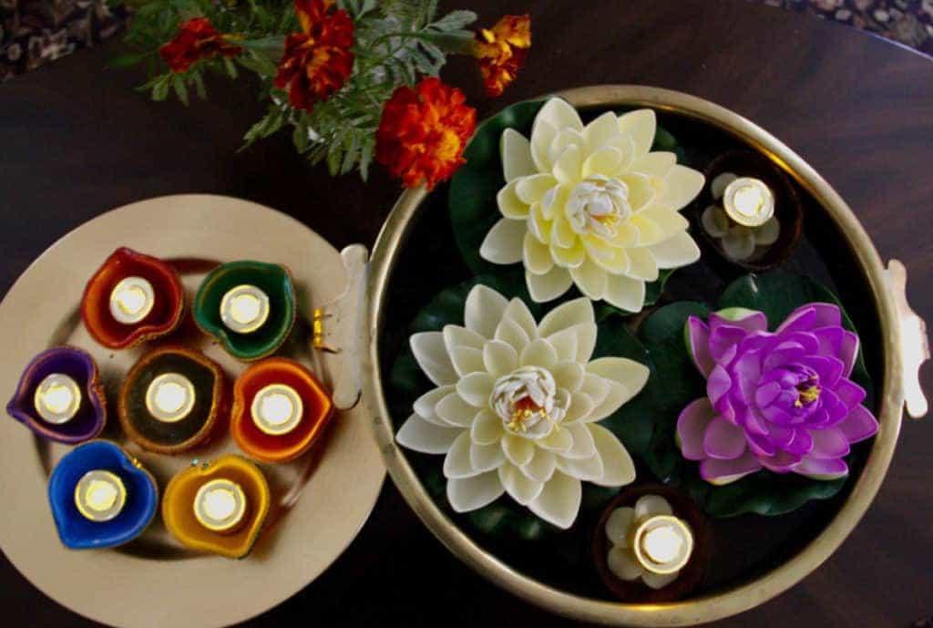 Diwali celebrations - decorations
