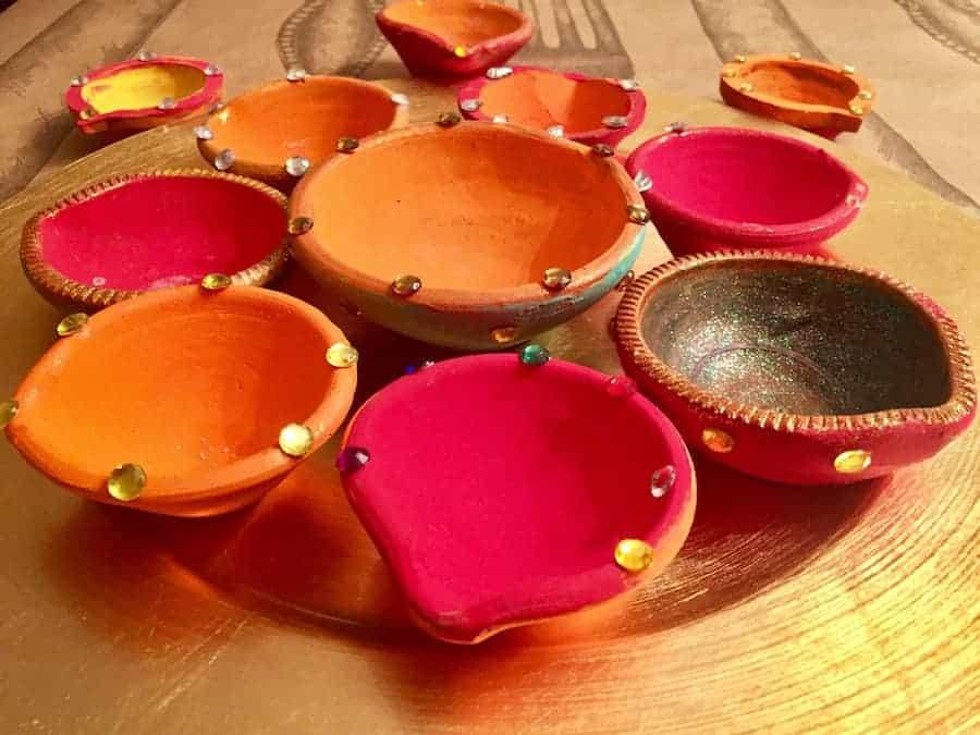Diwali celebrations -Diya