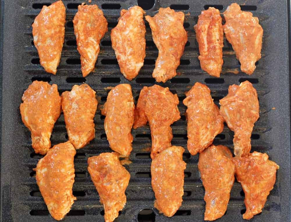 tandoori chicken wings grill