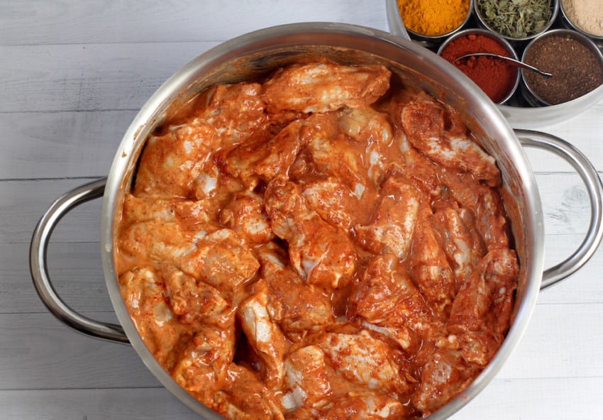 tandoori chicken wings marinade