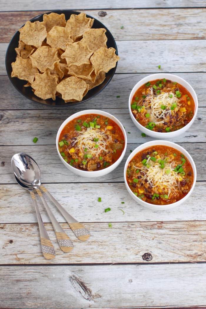 Buffalo Chicken Chili – Instant Pot