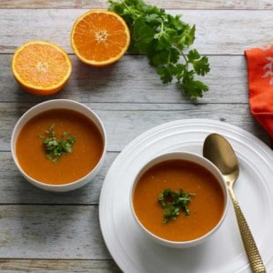 citrusy lentil soup