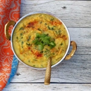 Spinach Daal - Instant Pot