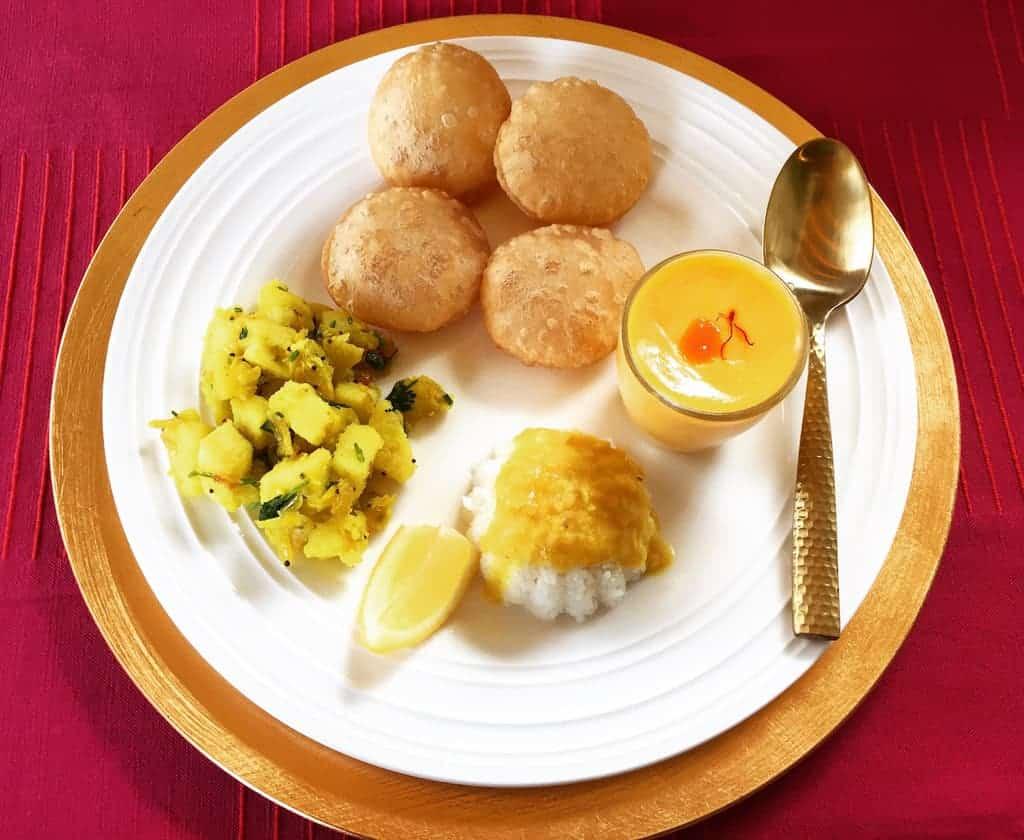Mango Shrikhand - Meal
