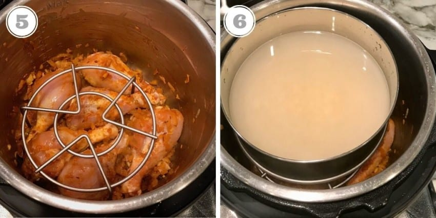 how to make pot in pot rice