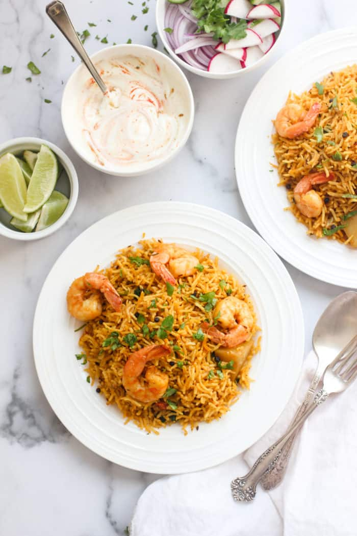 Shrimp Biryani – Instant Pot