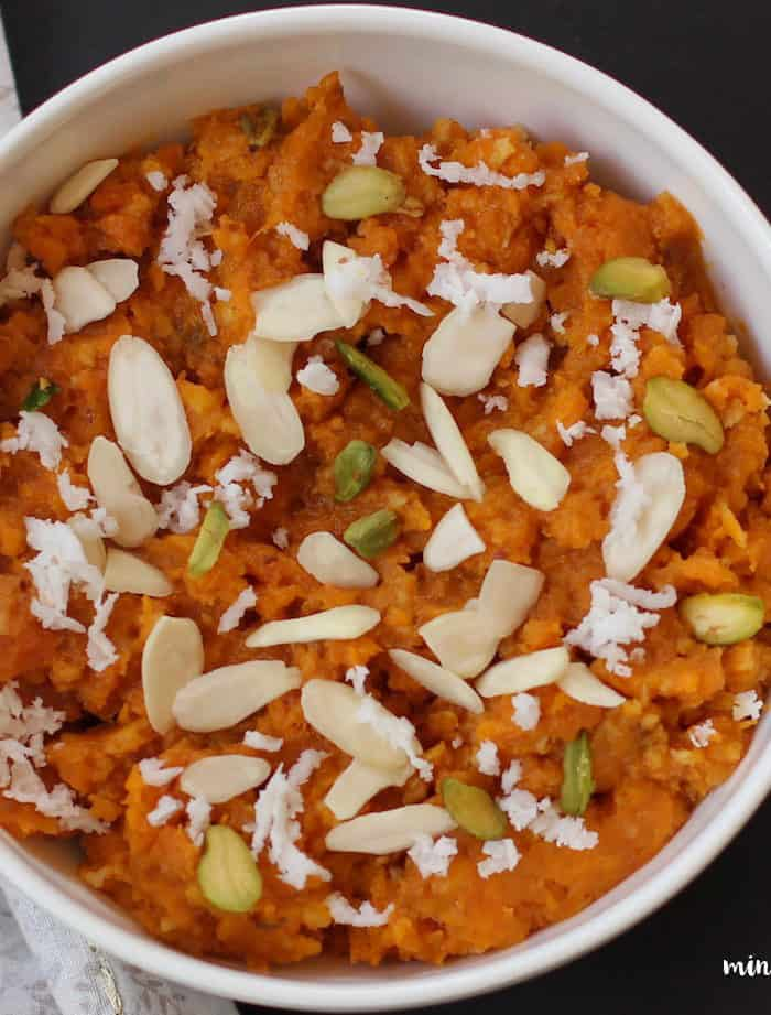 Sweet Potato Halwa- Instant Pot