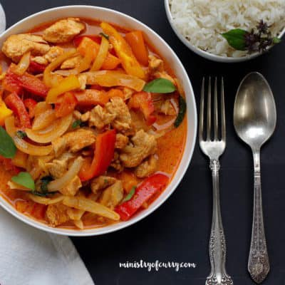 Thai Red Curry Chicken – Instant Pot