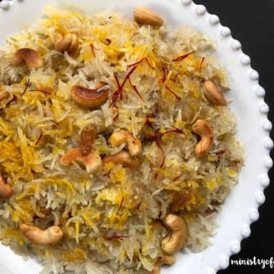 Sweet Coconut Rice – Instant Pot