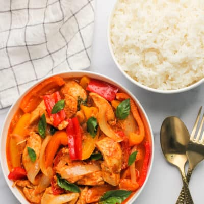 Thai Red Curry Chicken – Instant Pot