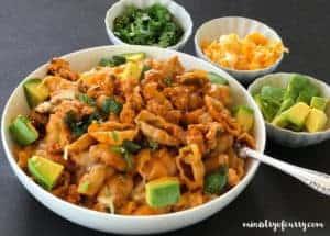 spicy taco pasta