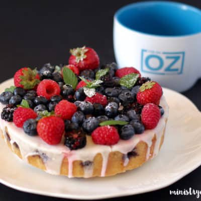 Summer Berry Cake – Instant Pot