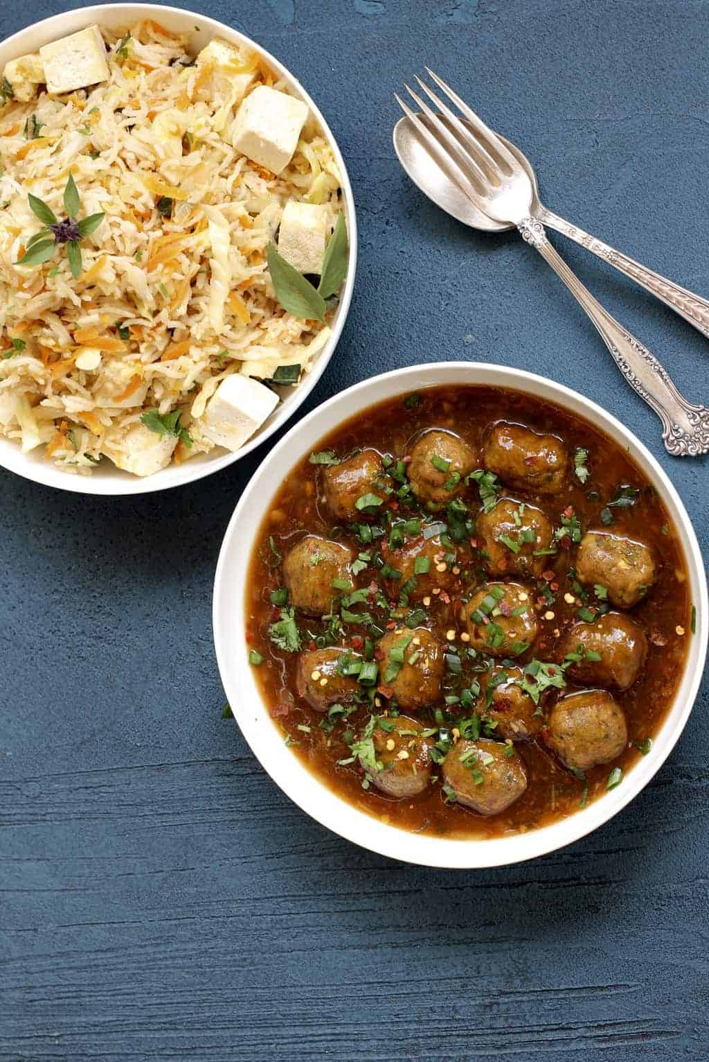 Vegetable Manchurian – Instant Pot