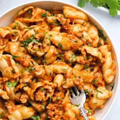 Spicy Taco Pasta – Instant Pot
