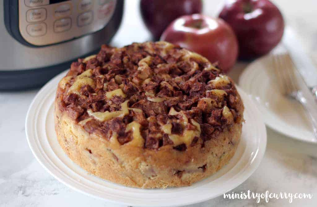 apple cake instant pot