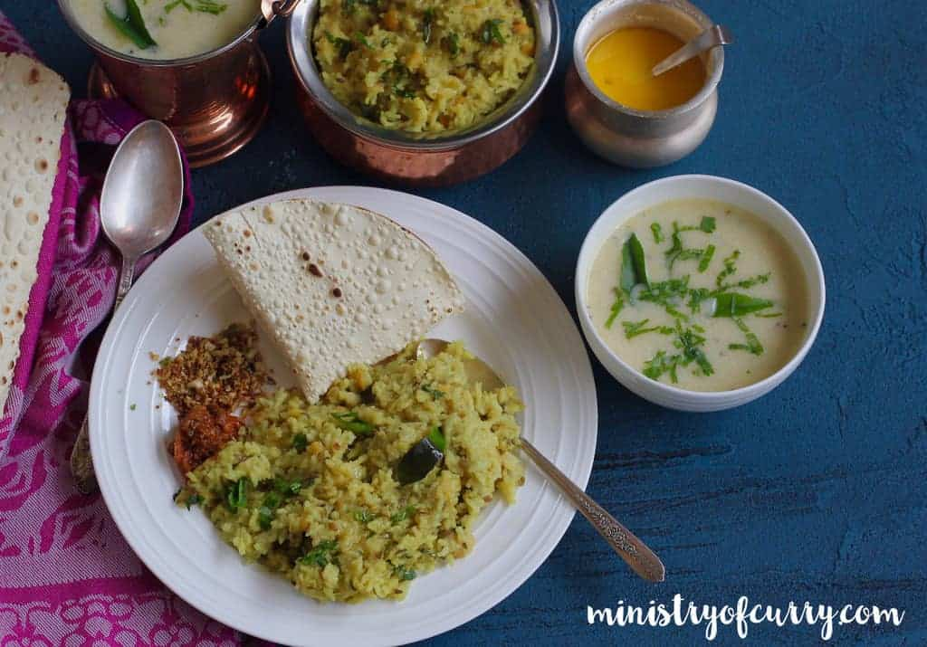 Gujarati Kadhi and Khichdi - Instant Pot - Ministry of Curry