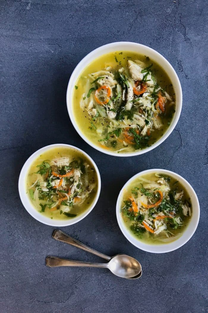 Chicken Coriander Soup – Instant Pot