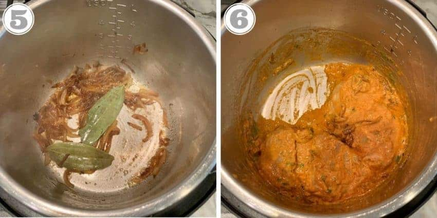 cooking marinated chicken in instant pot