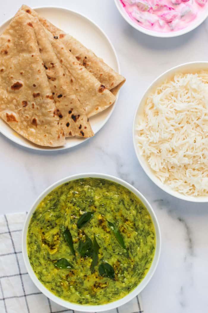 Garlic Dill Lentils – Instant Pot