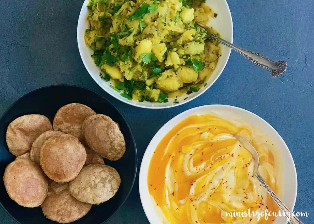 batata bhaji - Indian Spiced Potatoes