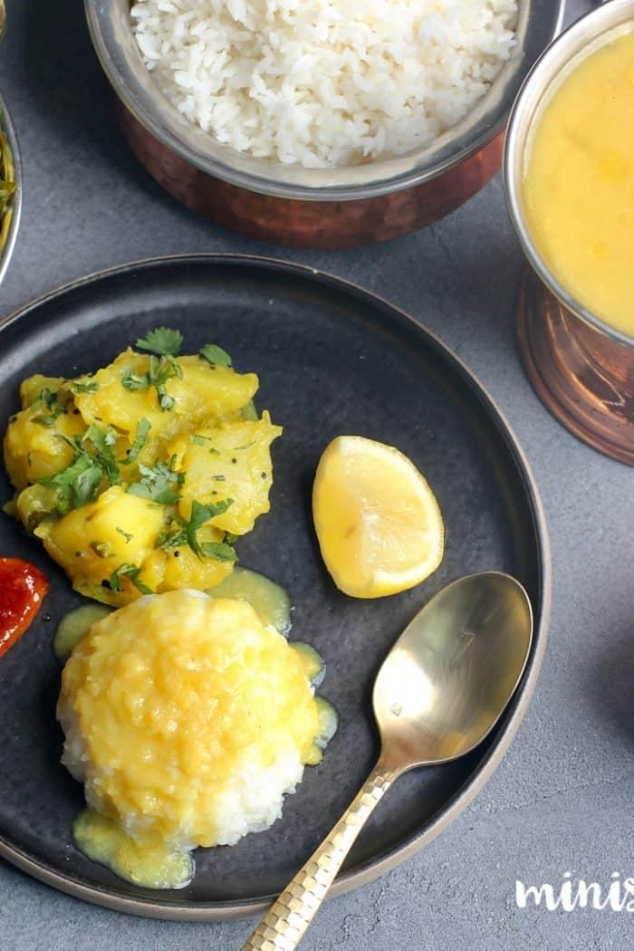 Batata Bhaji {Indian Spiced Potatoes} – Instant Pot