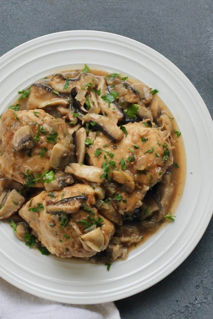 Easy Chicken Marsala – Instant Pot