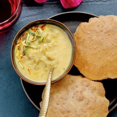 Dudhi Basundi {Sweet Thickened milk} – Instant Pot