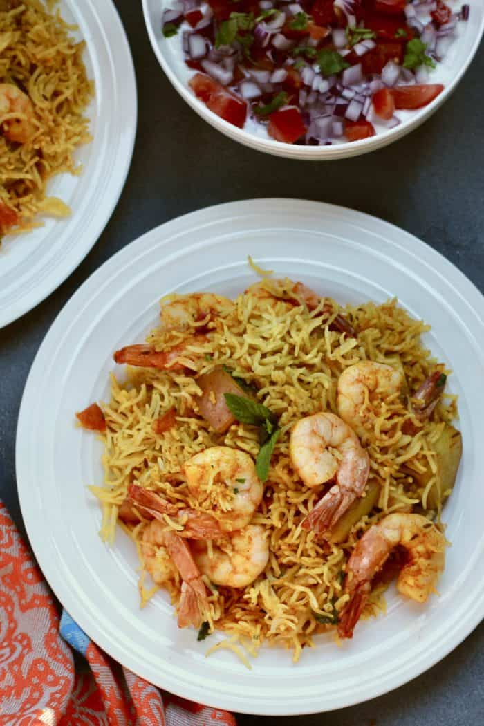 Shrimp Biryani – Instant Pot