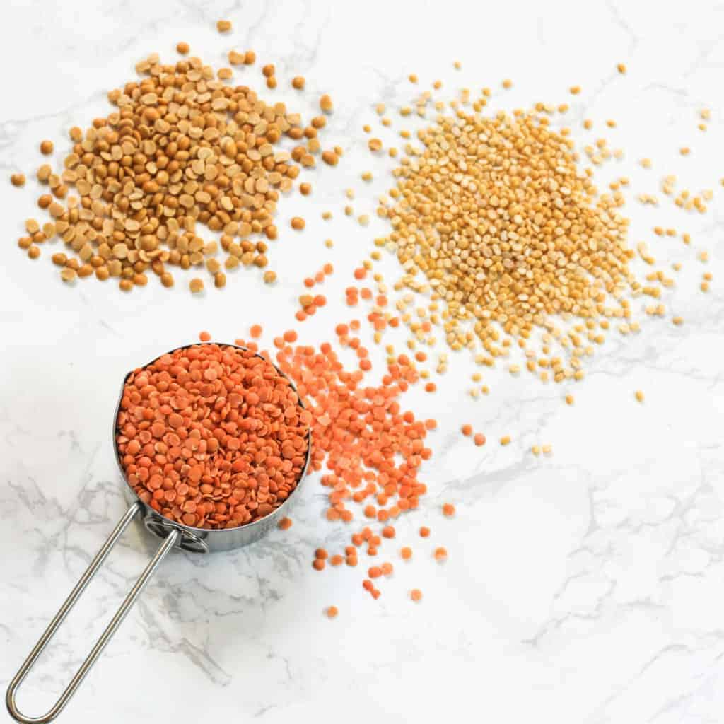 picture of dry lentils