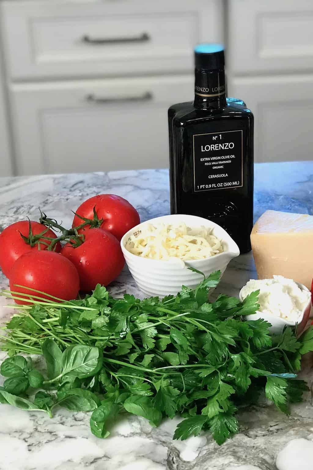 ingredients for lasagna soup