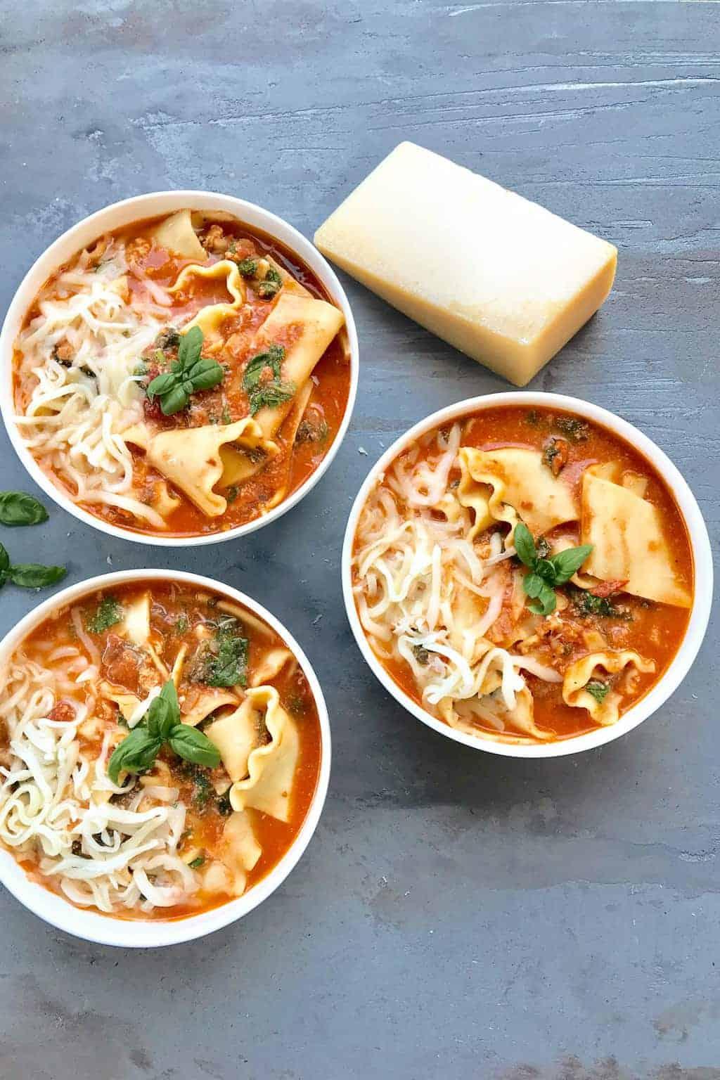 lasagana soup