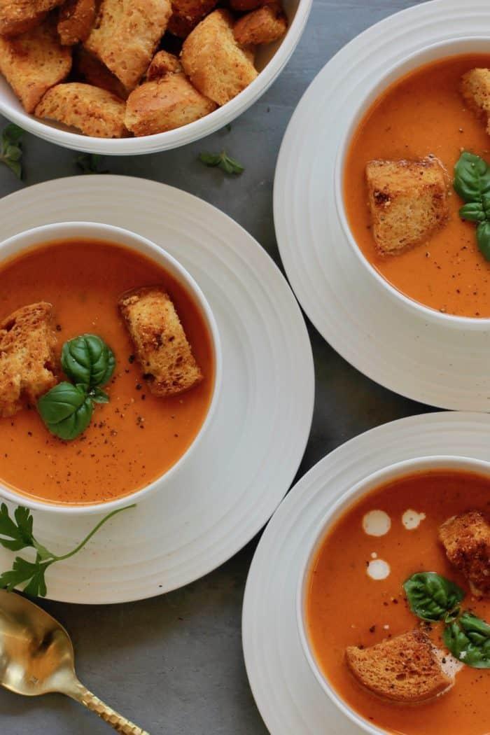 Creamy Tomato Bisque Instant Pot