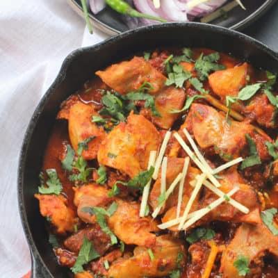 Instant Pot Chicken Karahi