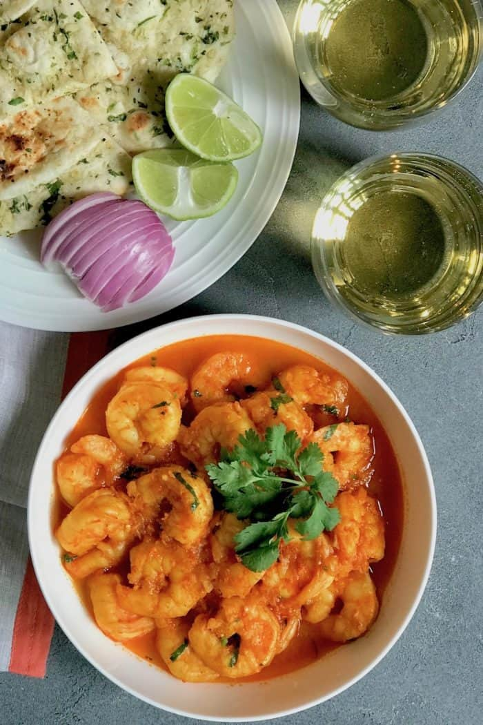 Instant Pot Quick and Easy Shrimp Curry