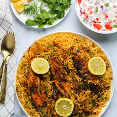 Instant Pot Fish Biryani