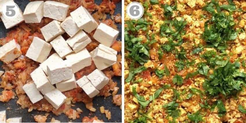 steps 5 to 6 how to make recipe