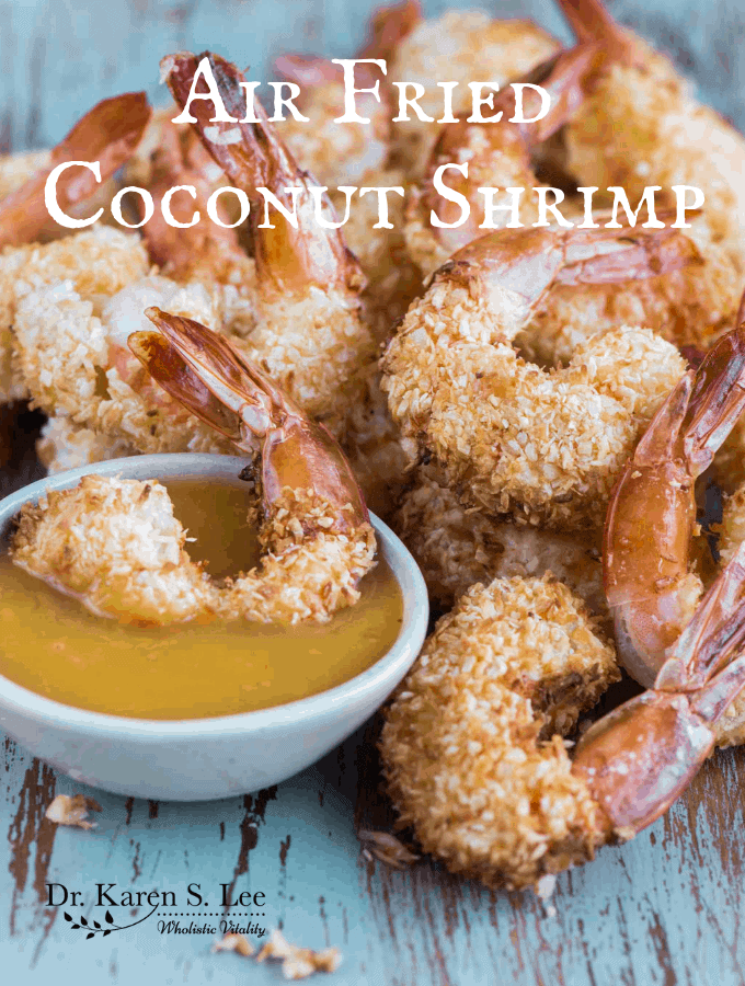 Air Fried Paleo Coconut Shrimp