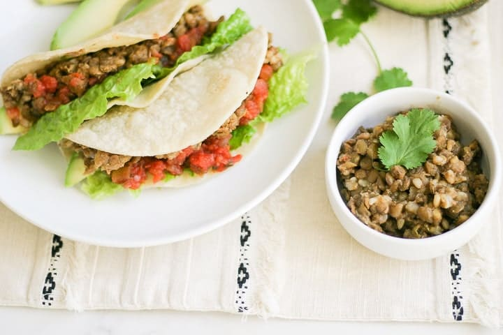 Lentil Tacos Recipe in the Instant Pot