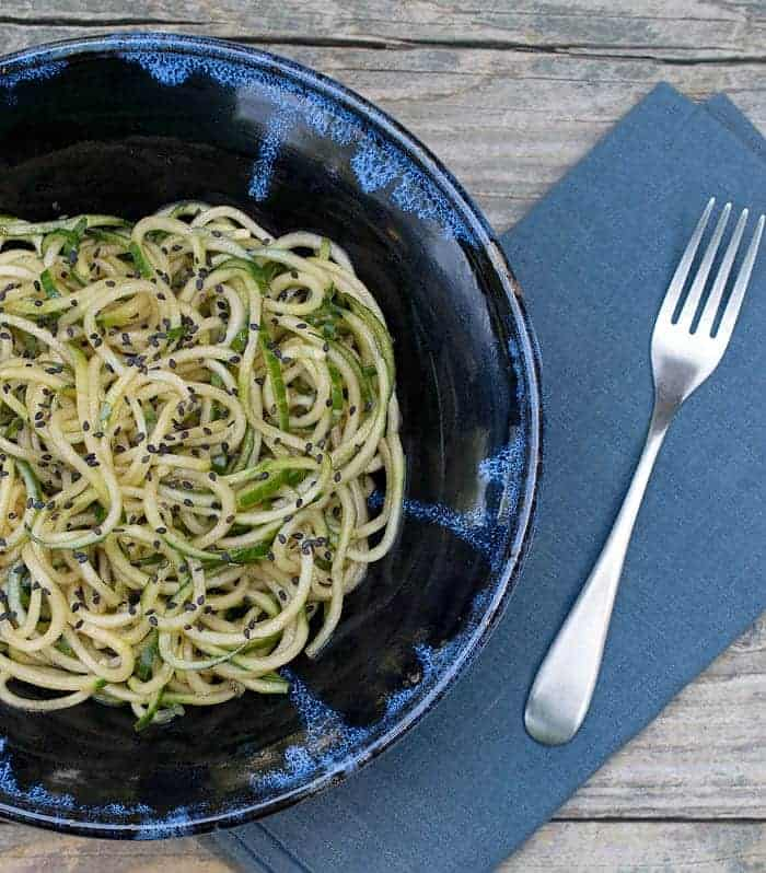Super Easy Sesame Cucumber Noodles – PF Chang's Copycat