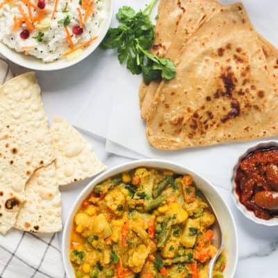 Instant Pot Vegetable Kurma