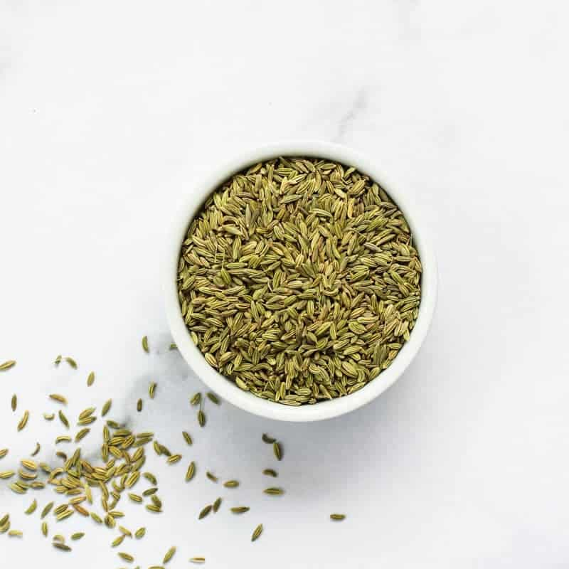 Fennel Seeds in a bowl