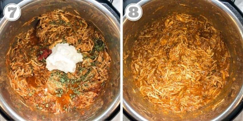 pulled chicken in Instant Pot
